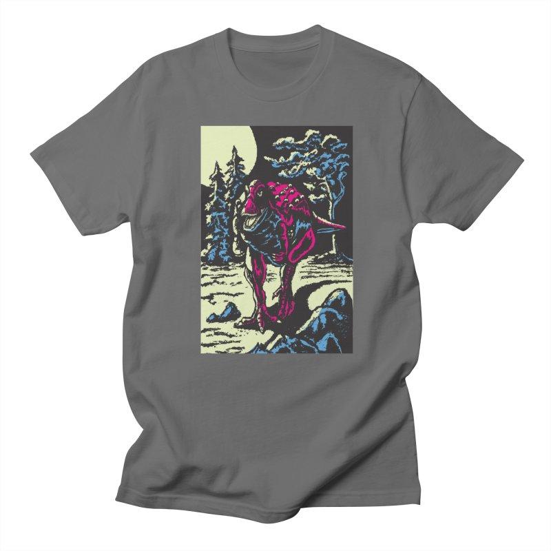 Night Predator Men's T-Shirt by funnyfuse's Artist Shop