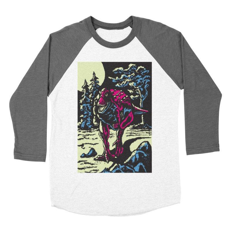 Night Predator Men's Baseball Triblend T-Shirt by funnyfuse's Artist Shop