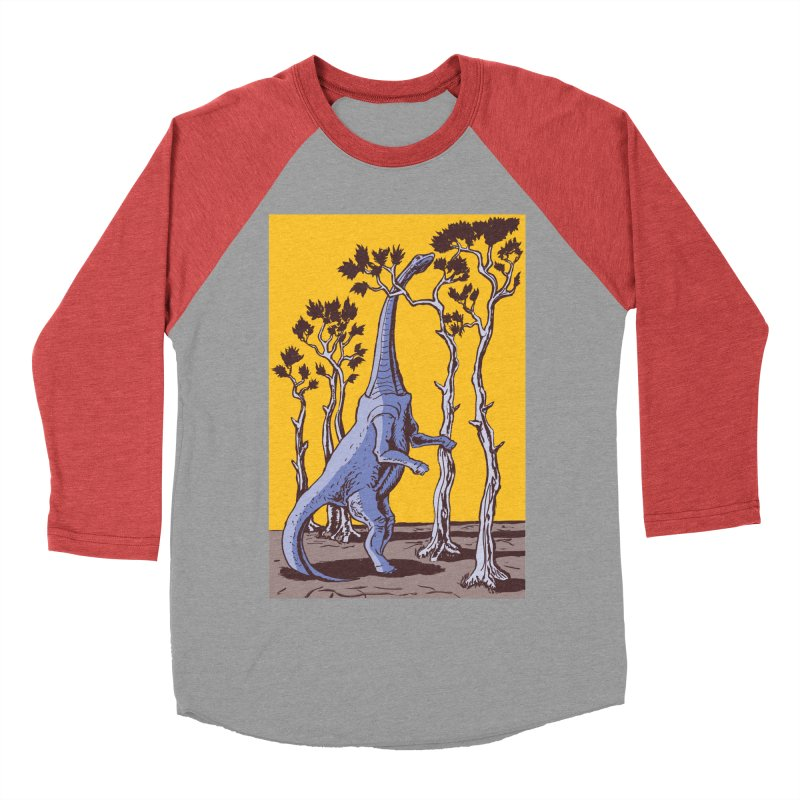 Reaching for the Treetops Women's Baseball Triblend T-Shirt by funnyfuse's Artist Shop