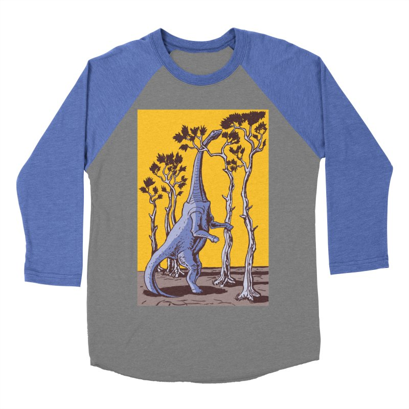 Reaching for the Treetops Men's Baseball Triblend T-Shirt by funnyfuse's Artist Shop