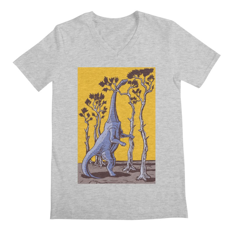 Reaching for the Treetops Men's V-Neck by funnyfuse's Artist Shop