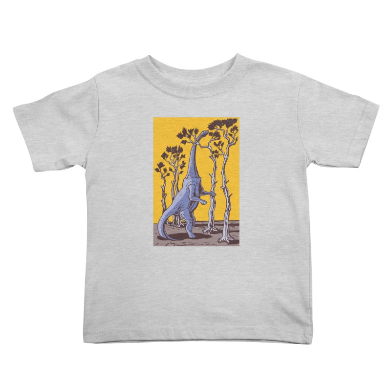 Reaching for the Treetops Kids Toddler T-Shirt by funnyfuse's Artist Shop
