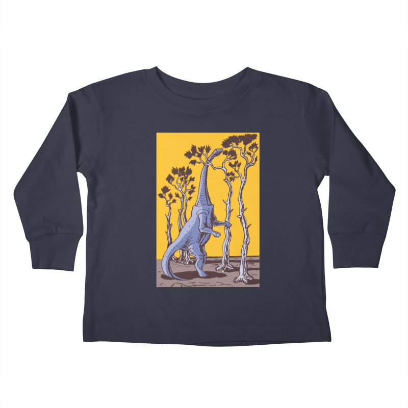 Reaching for the Treetops Kids Toddler Longsleeve T-Shirt by funnyfuse's Artist Shop