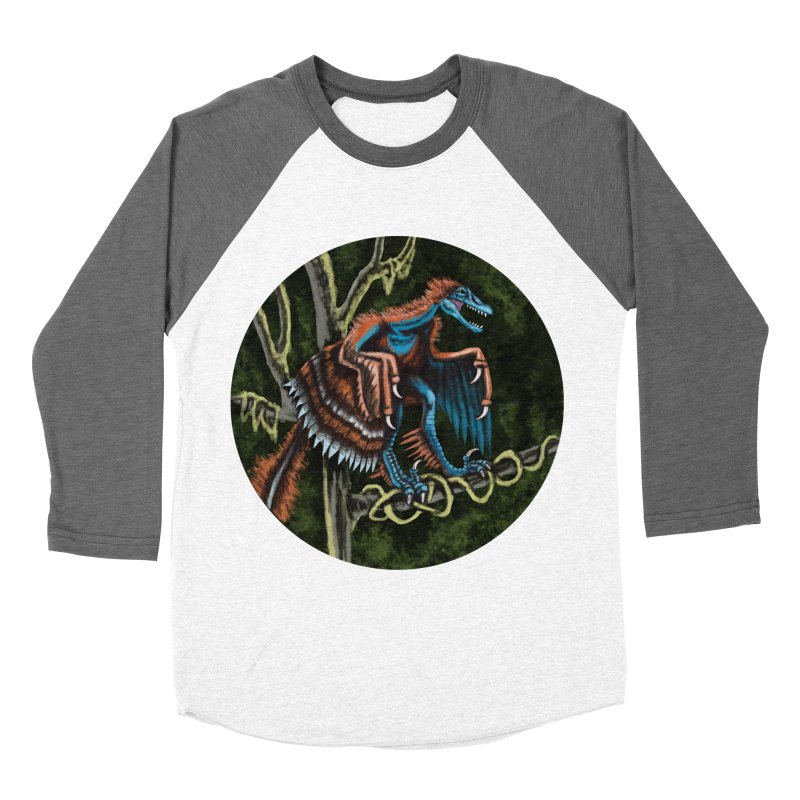 Air Raptor Women's Baseball Triblend T-Shirt by funnyfuse's Artist Shop