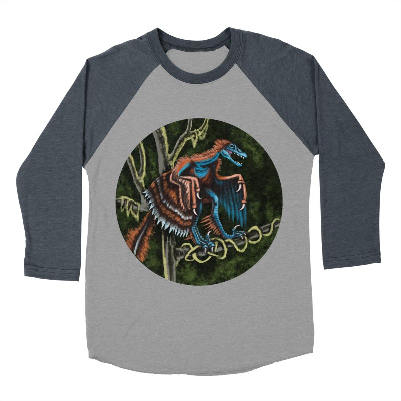 Air Raptor Women's Baseball Triblend T-Shirt by funnyfuse's Artist Shop
