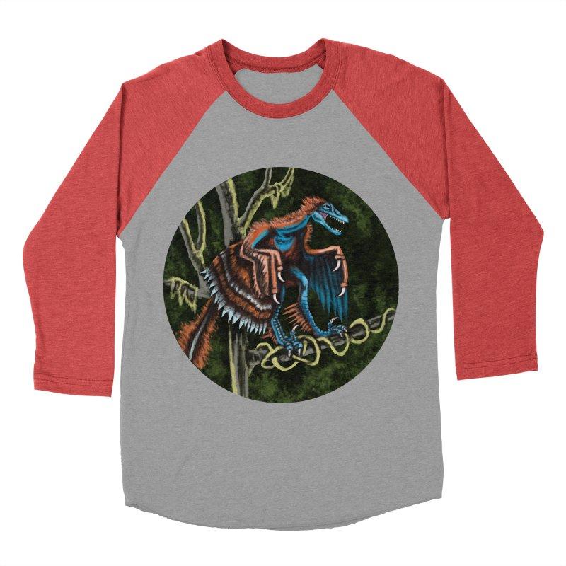 Air Raptor Men's Baseball Triblend T-Shirt by funnyfuse's Artist Shop