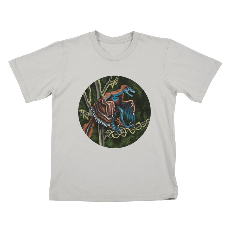 Air Raptor Kids T-shirt by funnyfuse's Artist Shop