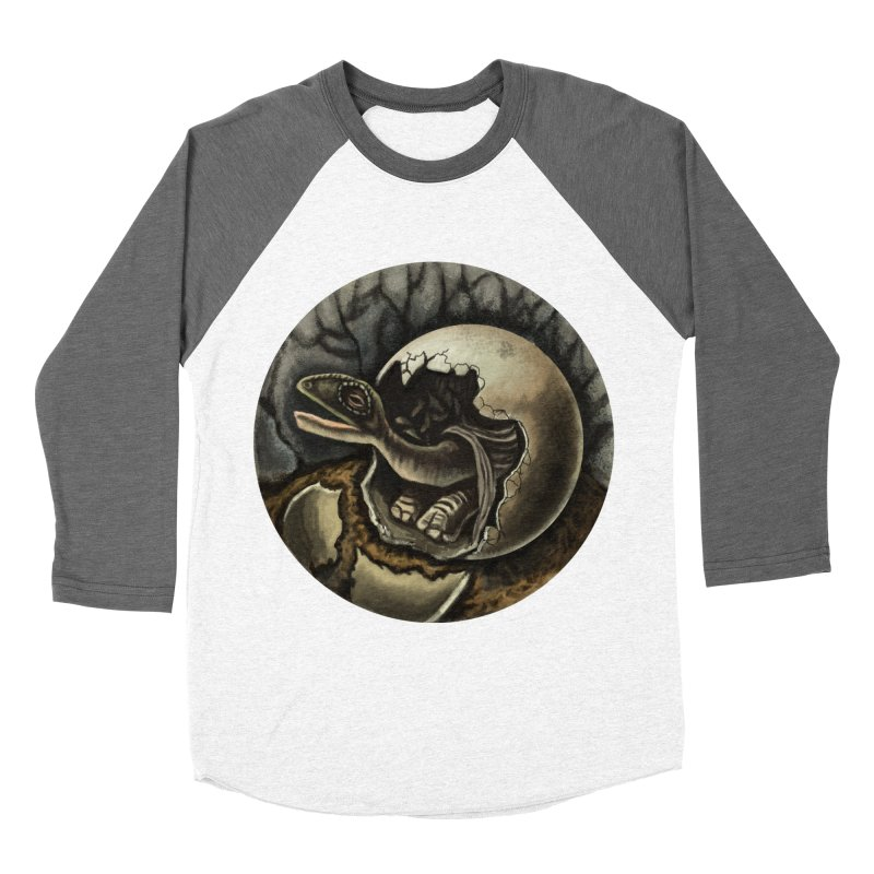 Baby Dino Women's Longsleeve T-Shirt by funnyfuse's Artist Shop