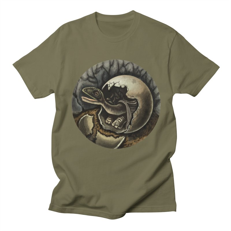 Baby Dino Men's T-shirt by funnyfuse's Artist Shop