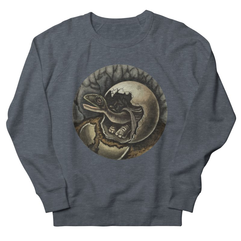 Baby Dino Women's Sweatshirt by funnyfuse's Artist Shop