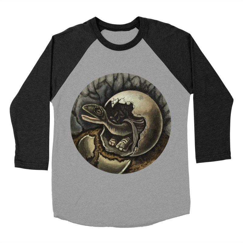 Baby Dino Women's Baseball Triblend Longsleeve T-Shirt by funnyfuse's Artist Shop