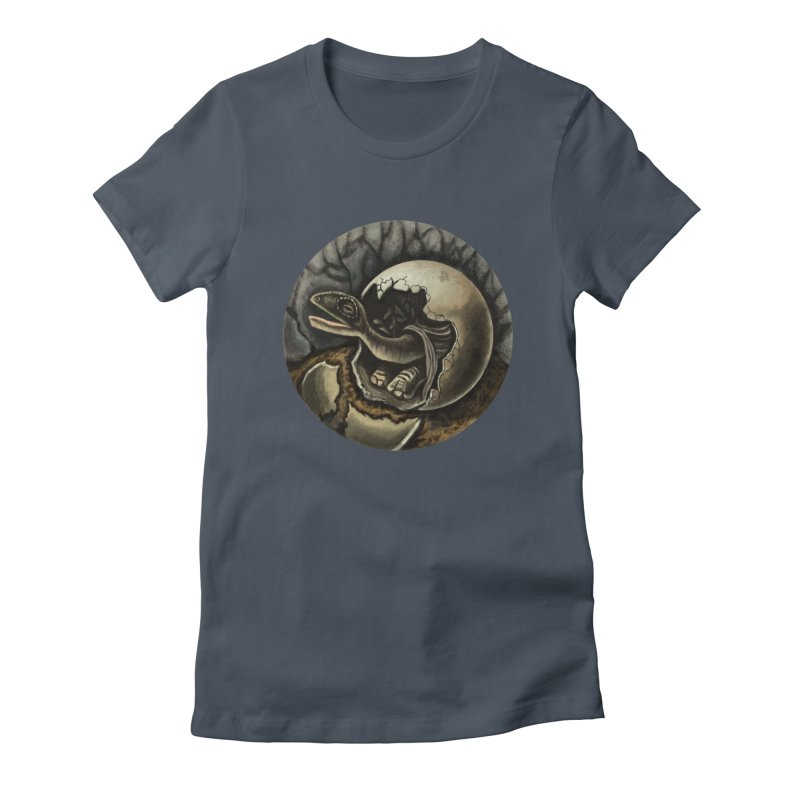 Baby Dino Women's T-Shirt by funnyfuse's Artist Shop