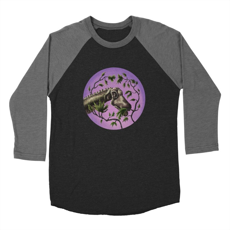 Diplodocus Women's Baseball Triblend Longsleeve T-Shirt by funnyfuse's Artist Shop