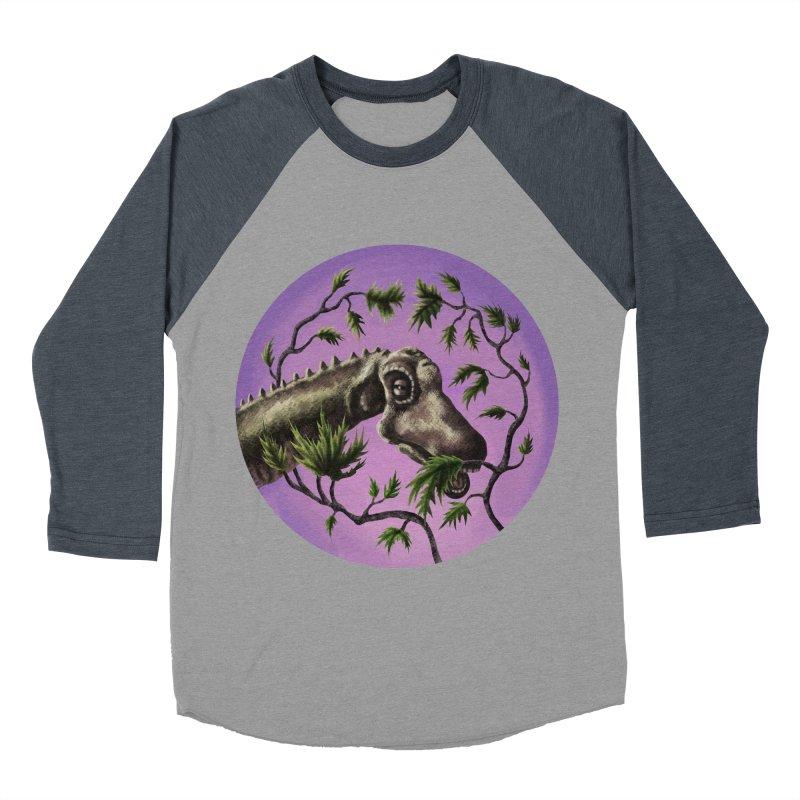 Diplodocus Men's Baseball Triblend T-Shirt by funnyfuse's Artist Shop