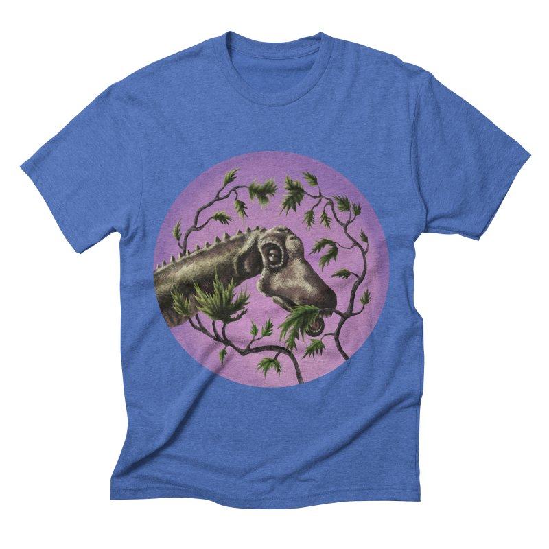 Diplodocus Men's Triblend T-shirt by funnyfuse's Artist Shop