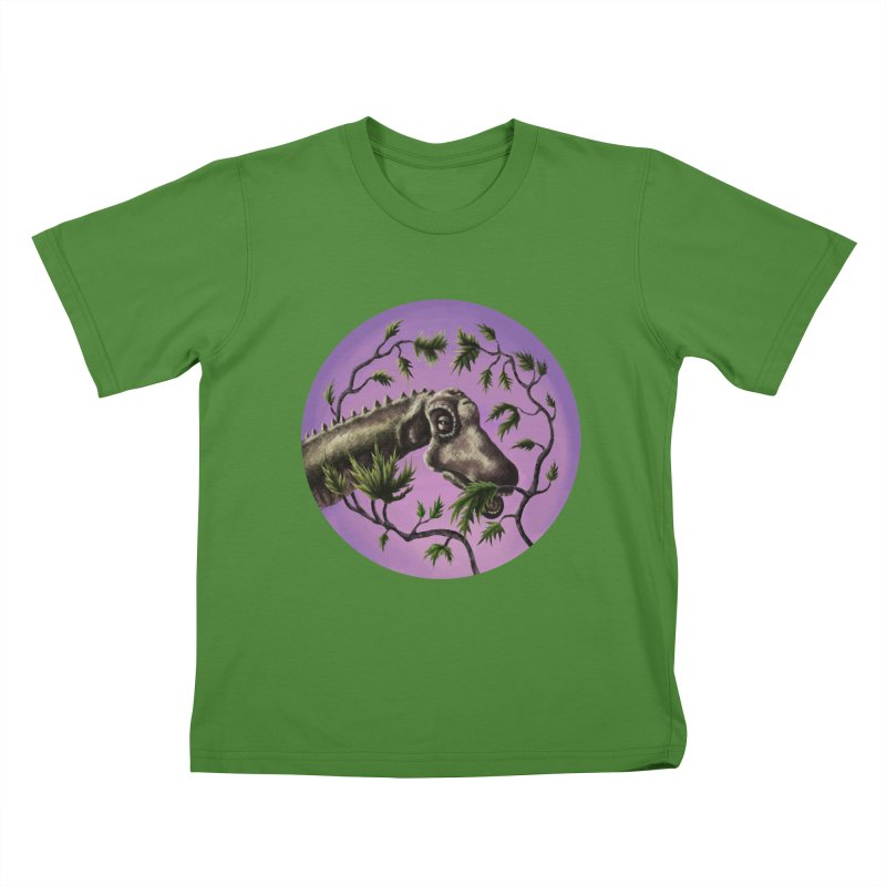 Diplodocus Kids T-shirt by funnyfuse's Artist Shop