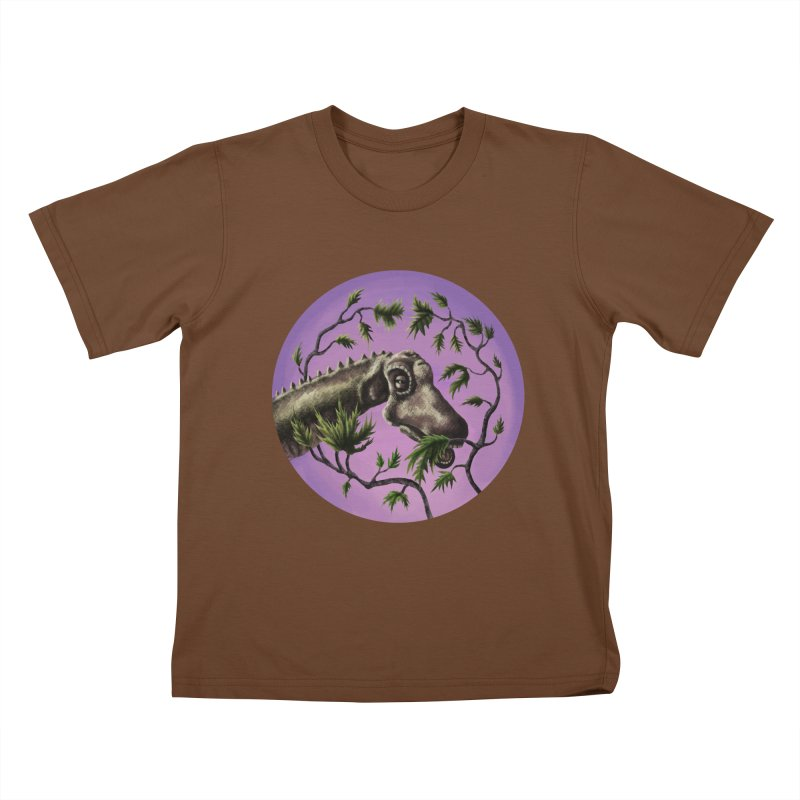 Diplodocus Kids T-Shirt by funnyfuse's Artist Shop