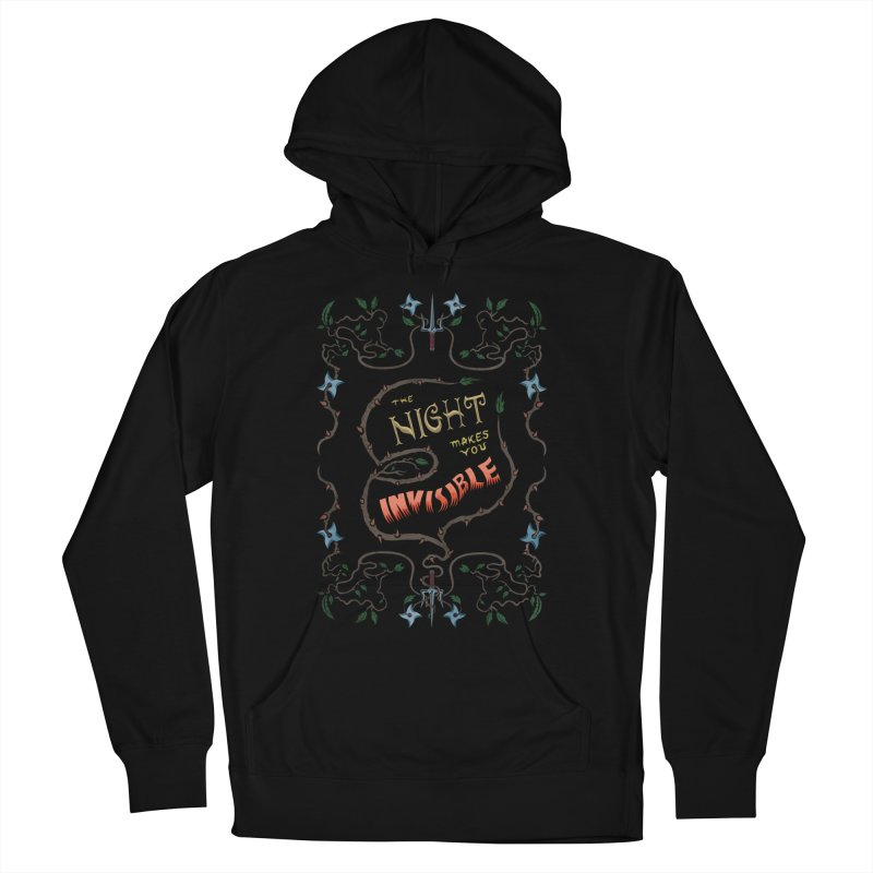 Ninja Typography Women's Pullover Hoody by funnyfuse's Artist Shop