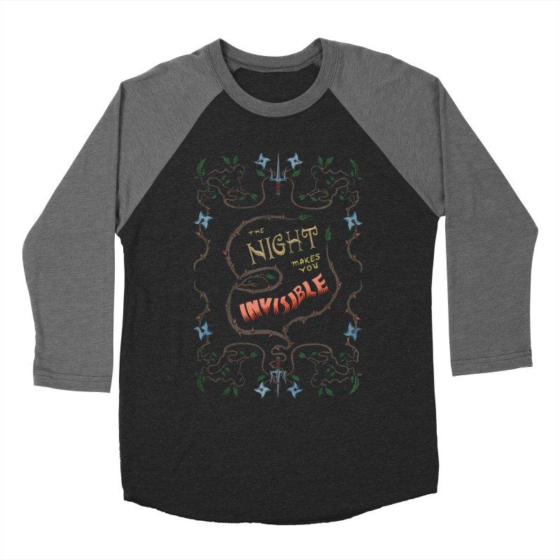 Ninja Typography Women's Longsleeve T-Shirt by funnyfuse's Artist Shop