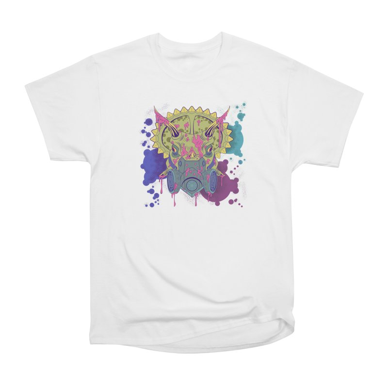 Tricera-paint Women's Heavyweight Unisex T-Shirt by funnyfuse's Artist Shop