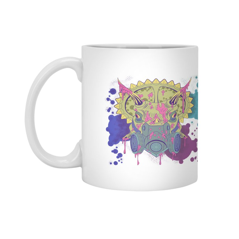 Tricera-paint Accessories Mug by funnyfuse's Artist Shop