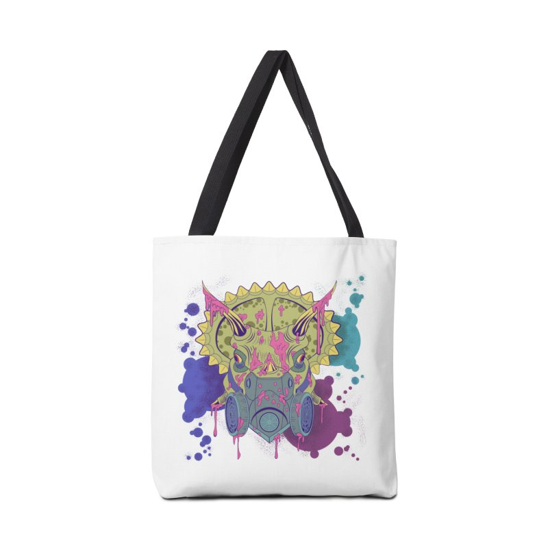 Tricera-paint Accessories Bag by funnyfuse's Artist Shop