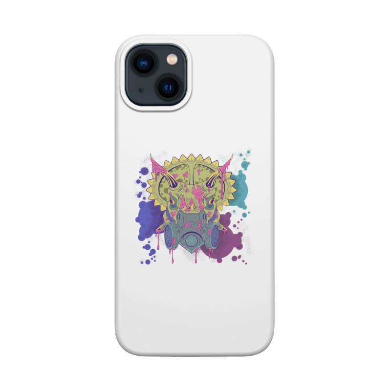 Tricera-paint Accessories Phone Case by funnyfuse's Artist Shop