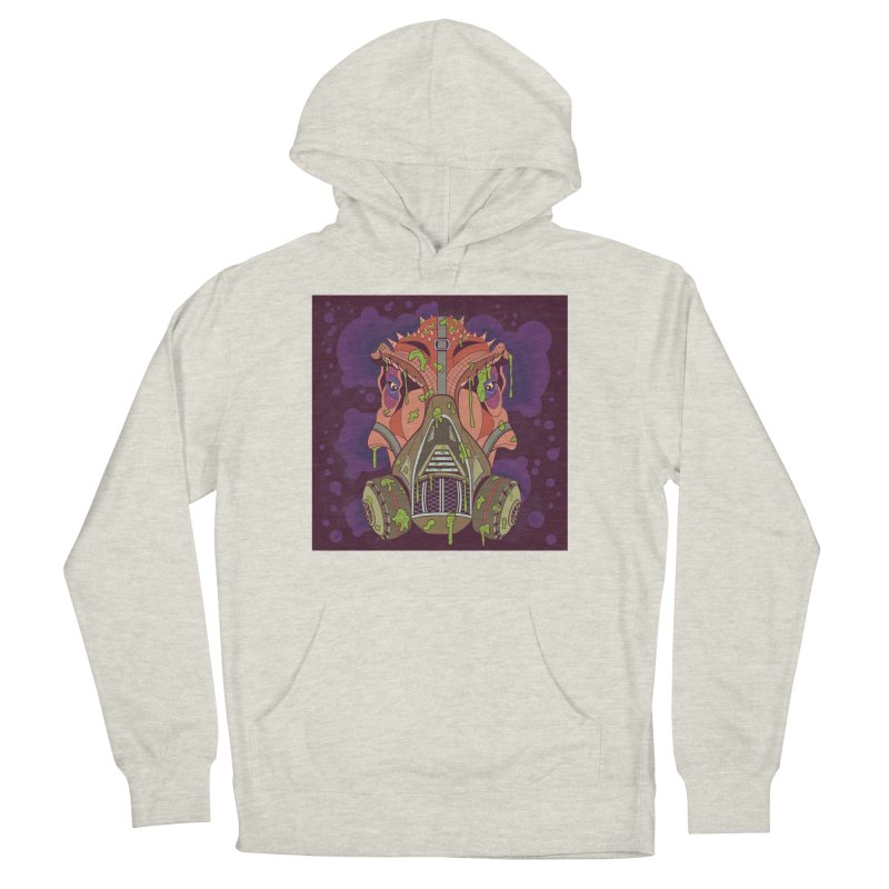 Graffiti Rex Men's French Terry Pullover Hoody by funnyfuse's Artist Shop
