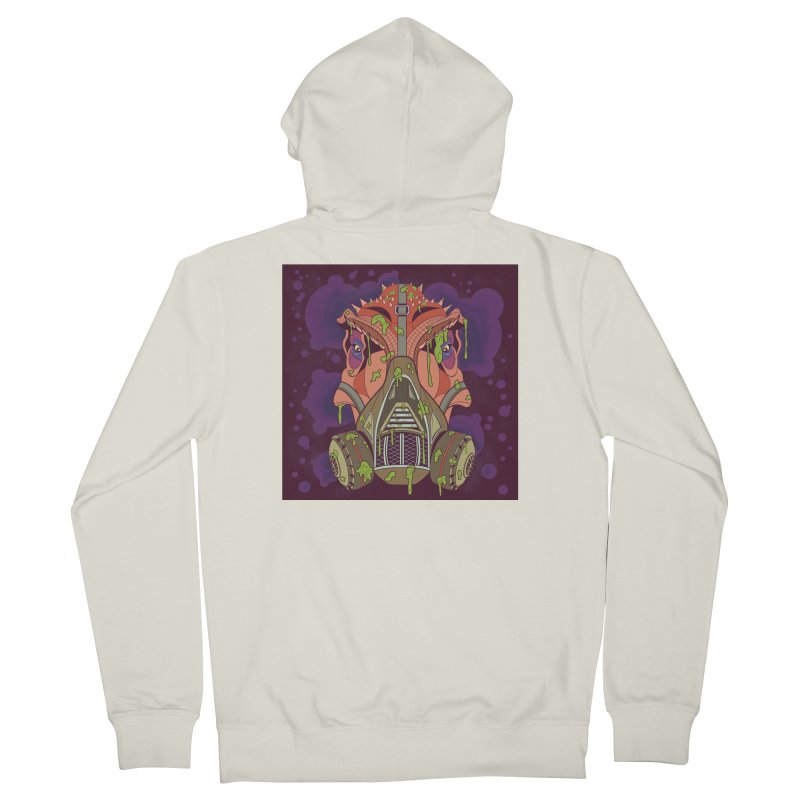 Graffiti Rex Women's French Terry Zip-Up Hoody by funnyfuse's Artist Shop