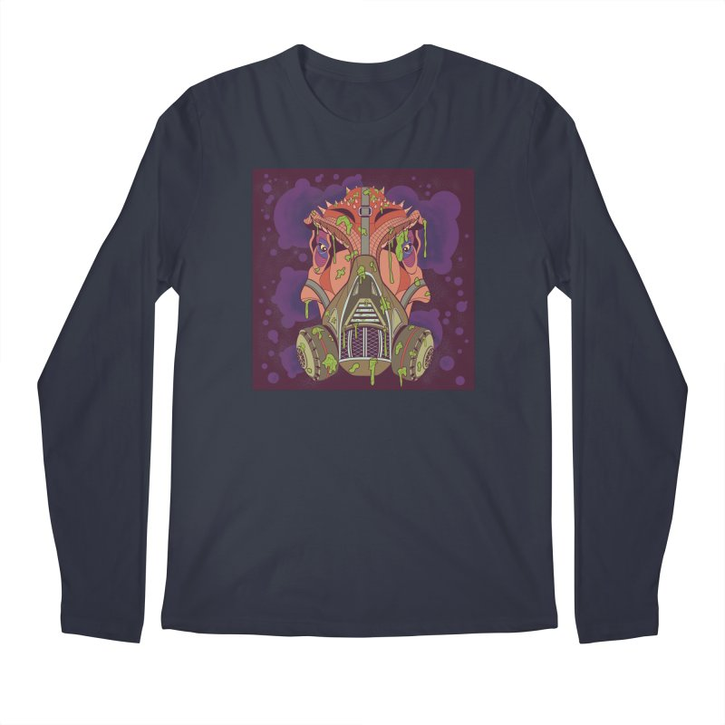 Graffiti Rex Men's Longsleeve T-Shirt by funnyfuse's Artist Shop