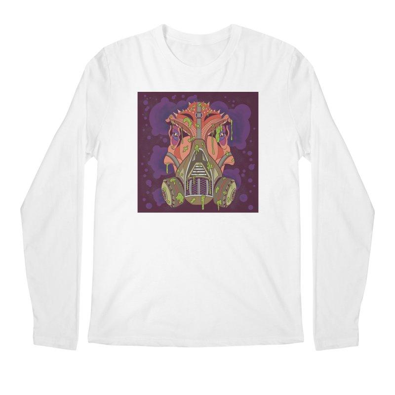Graffiti Rex Men's Regular Longsleeve T-Shirt by funnyfuse's Artist Shop