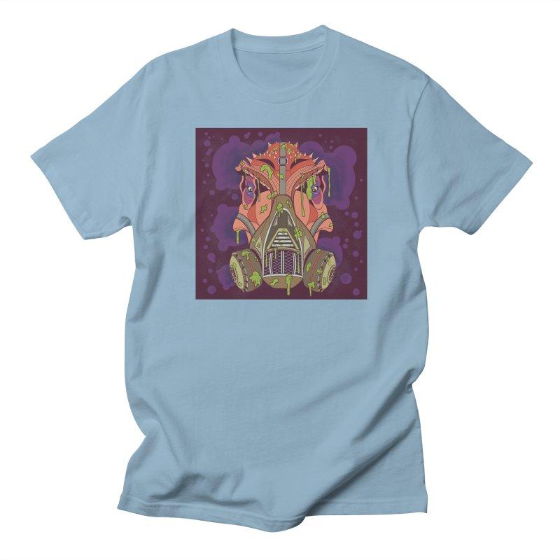 Graffiti Rex Men's Regular T-Shirt by funnyfuse's Artist Shop