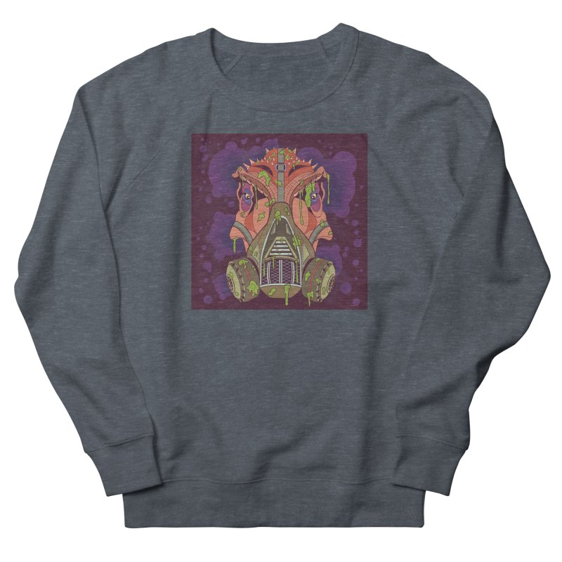 Graffiti Rex Women's French Terry Sweatshirt by funnyfuse's Artist Shop