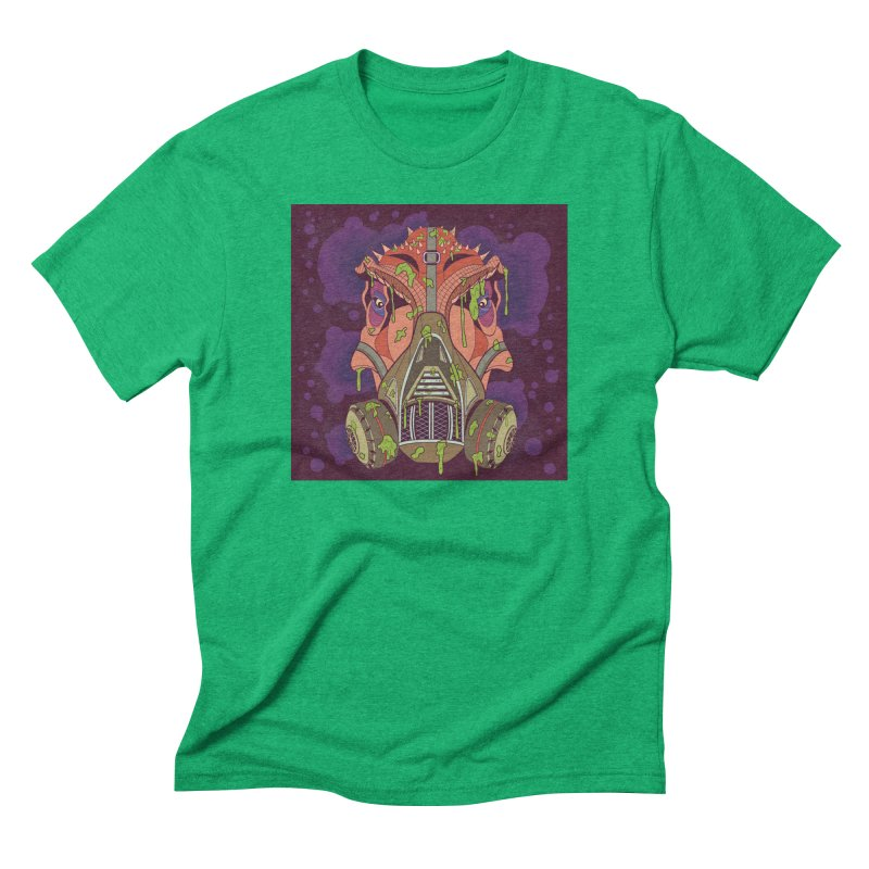 Graffiti Rex Men's Triblend T-Shirt by funnyfuse's Artist Shop