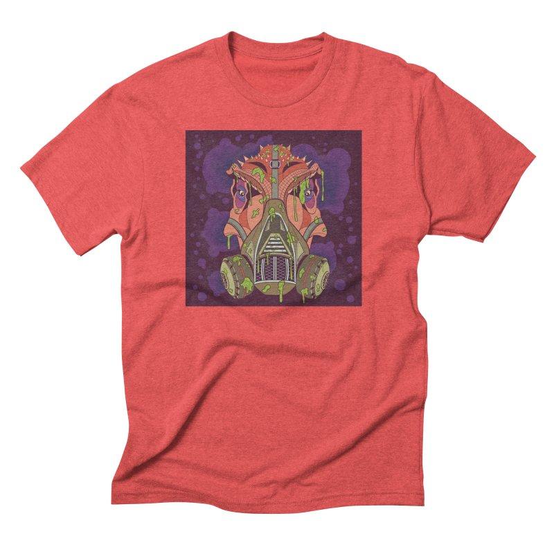Graffiti Rex Men's Triblend T-Shirt by funnyfuse's Artist Shop