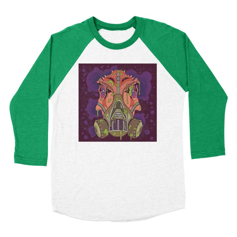 Graffiti Rex Women's Baseball Triblend Longsleeve T-Shirt by funnyfuse's Artist Shop