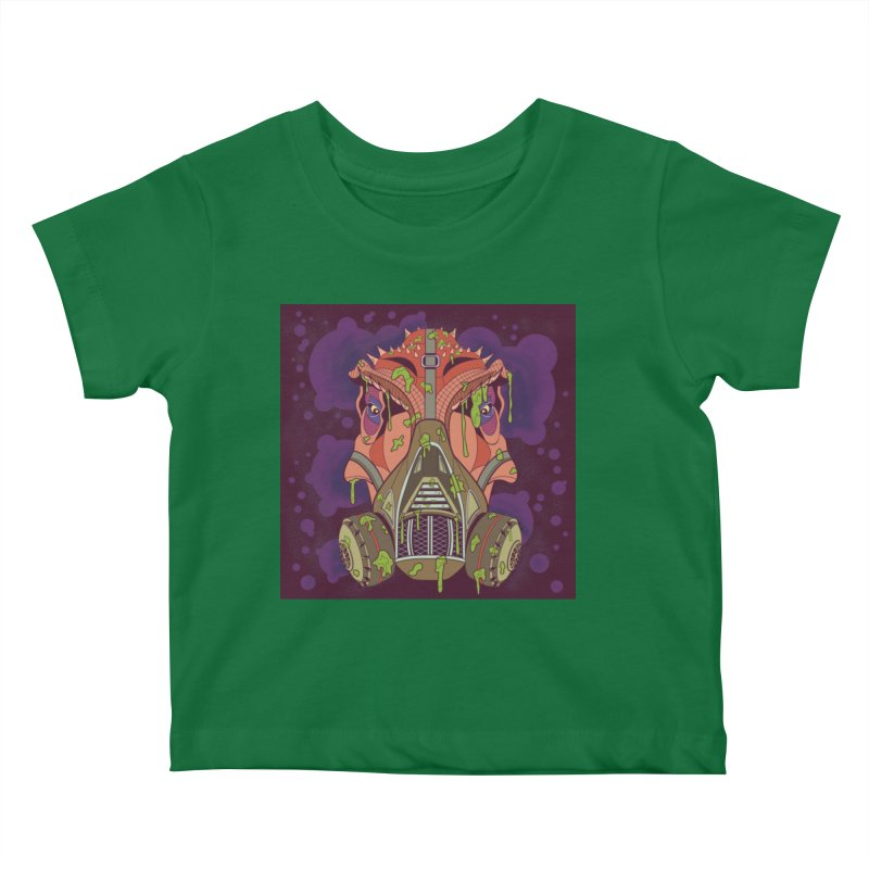 Graffiti Rex Kids Baby T-Shirt by funnyfuse's Artist Shop
