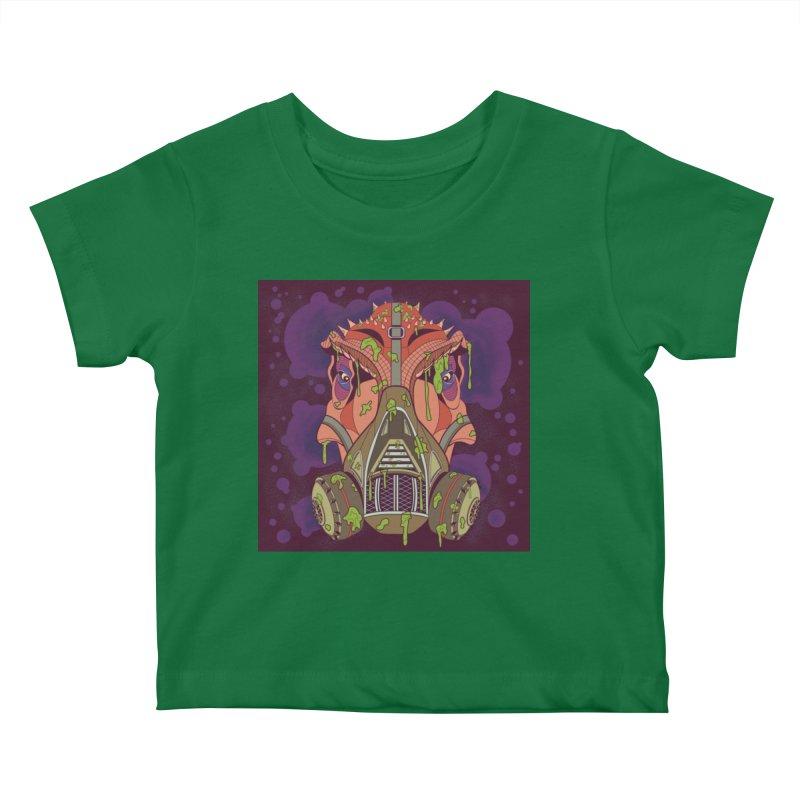 Graffiti Rex Kids Baby T-Shirt by funnyfuse's Artist Shop