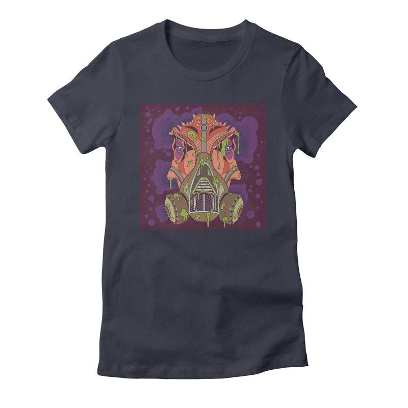Graffiti Rex Women's T-Shirt by funnyfuse's Artist Shop