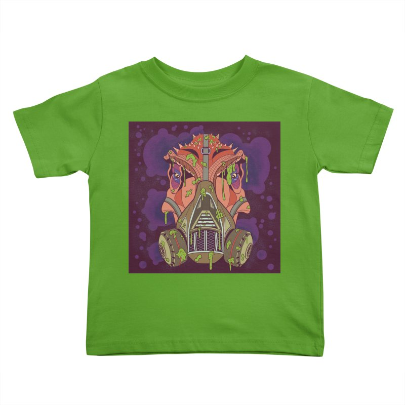 Graffiti Rex Kids Toddler T-Shirt by funnyfuse's Artist Shop