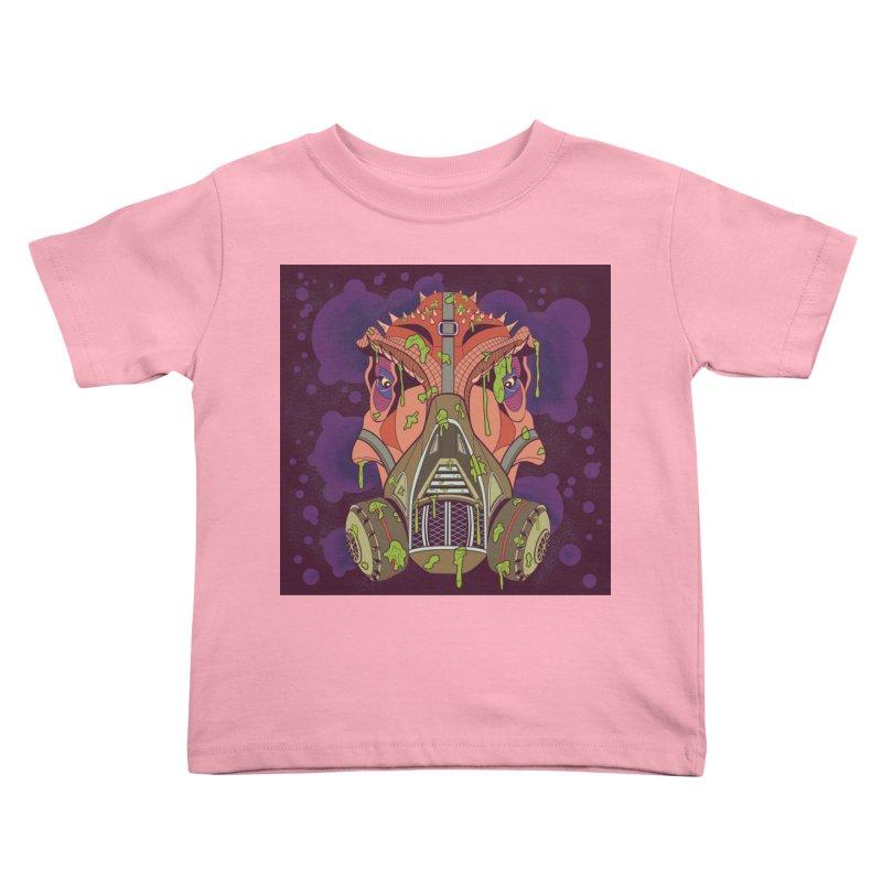 Graffiti Rex Kids Toddler T-Shirt by funnyfuse's Artist Shop