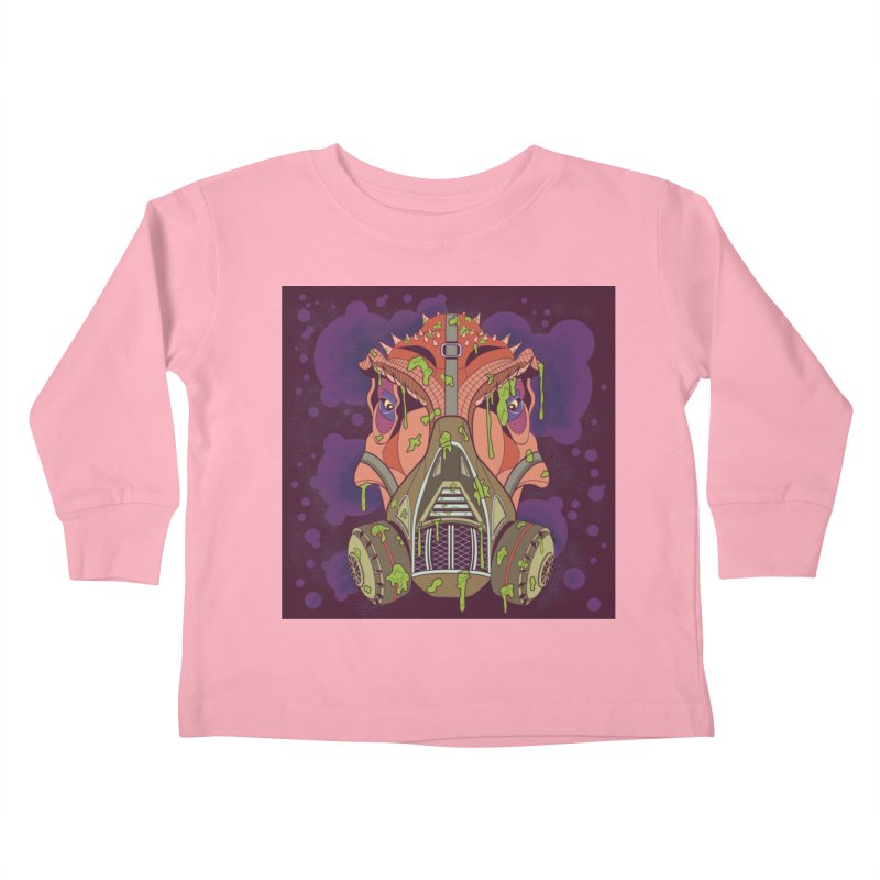 Graffiti Rex Kids Toddler Longsleeve T-Shirt by funnyfuse's Artist Shop