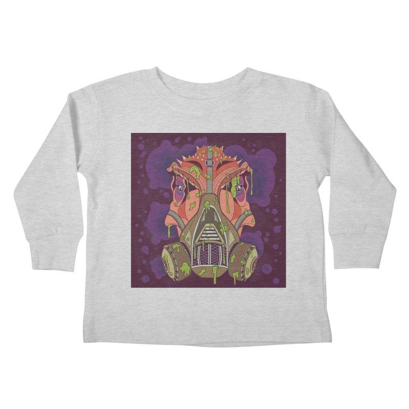 Graffiti Rex Kids Toddler Longsleeve T-Shirt by funnyfuse's Artist Shop