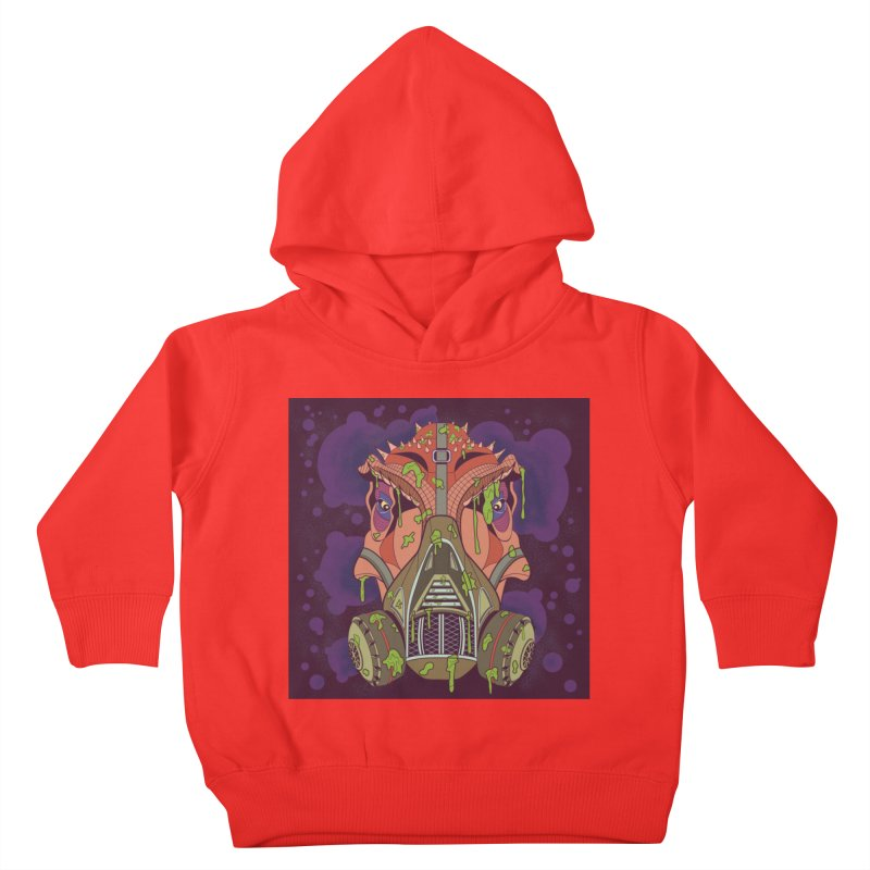 Graffiti Rex Kids Toddler Pullover Hoody by funnyfuse's Artist Shop