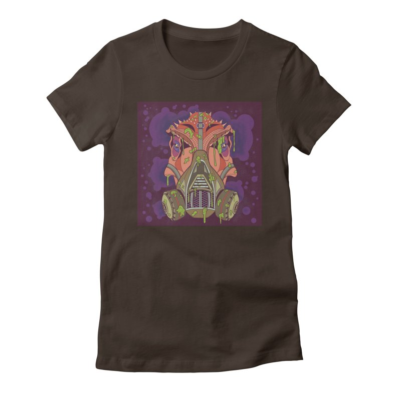 Graffiti Rex Women's Fitted T-Shirt by funnyfuse's Artist Shop