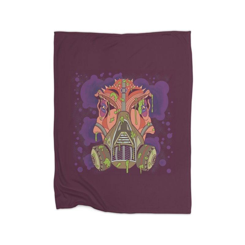 Graffiti Rex Home Blanket by funnyfuse's Artist Shop