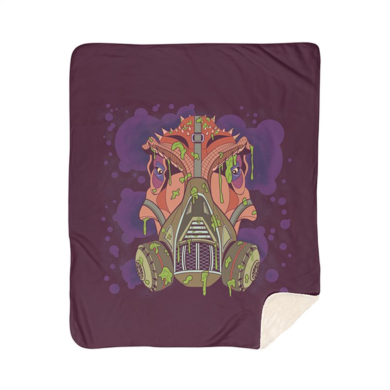 Graffiti Rex Home Sherpa Blanket Blanket by funnyfuse's Artist Shop