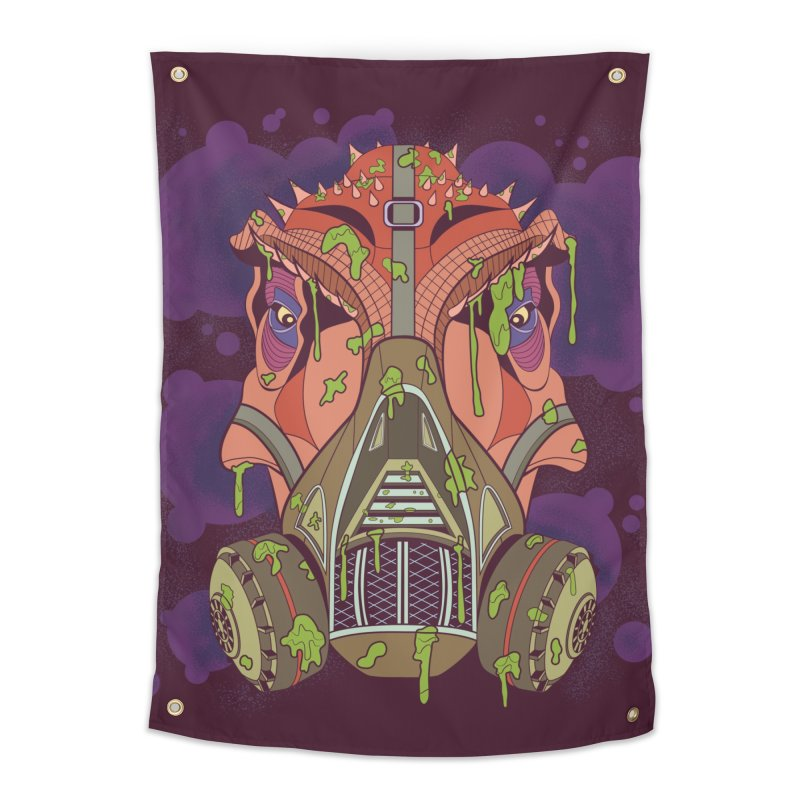 Graffiti Rex Home Tapestry by funnyfuse's Artist Shop