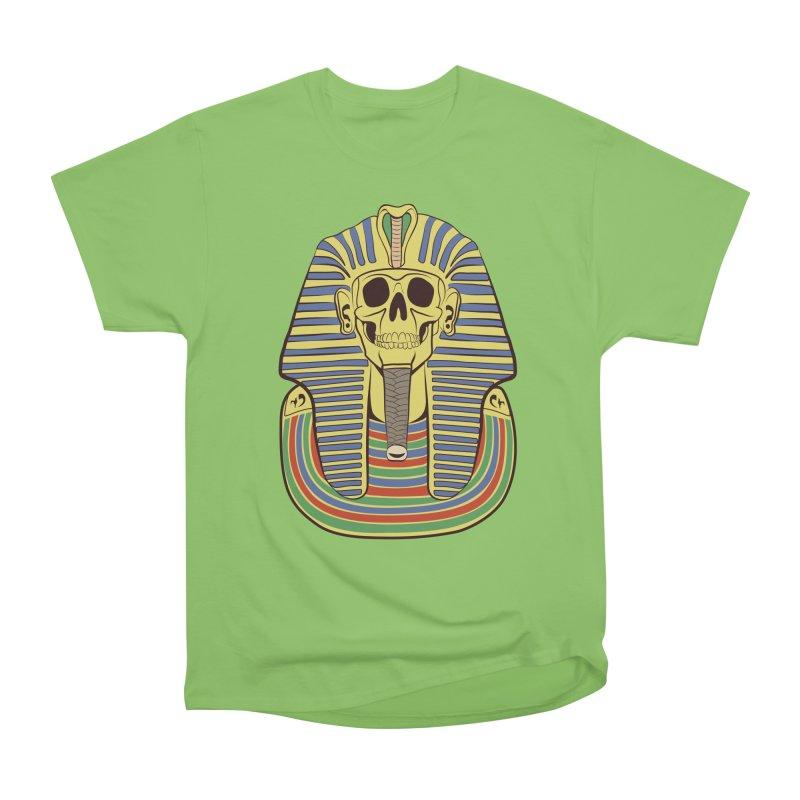 Skull Tut Women's Heavyweight Unisex T-Shirt by funnyfuse's Artist Shop
