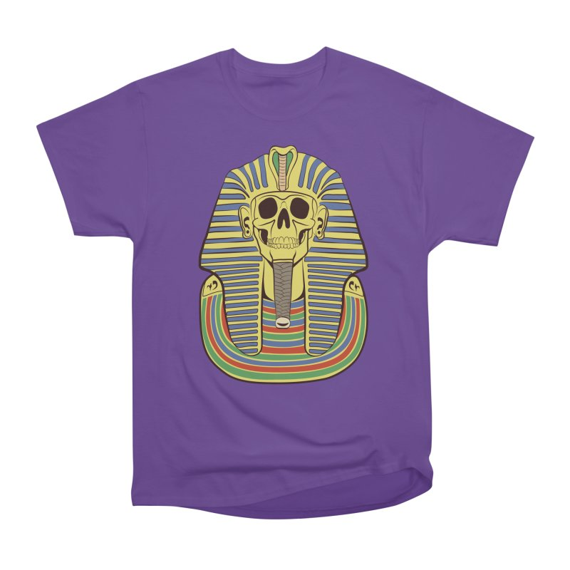 Skull Tut Men's Heavyweight T-Shirt by funnyfuse's Artist Shop